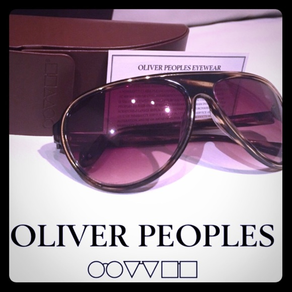 Oliver Peoples Accessories - Oliver Peoples Tortoise Havana Unisex Sunglasses